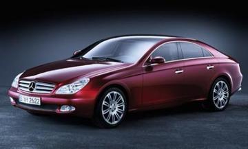 Vierdeurs coupé studie van Mercedes