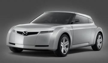 Mini-coupé van Mazda
