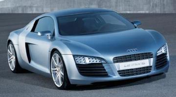 Lamborghini van Audi: Le Mans