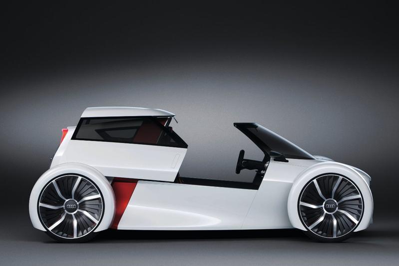 Audi Urban concept: 't lijkt wel een Messerschmitt