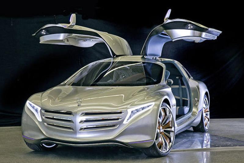 Mercedes F125 concept: toch weer waterstof