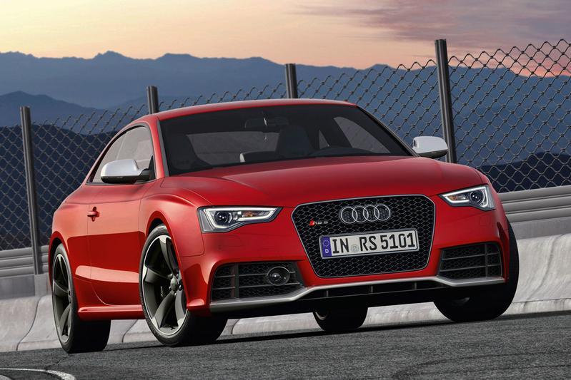 Audi RS5 doet mee met facelift
