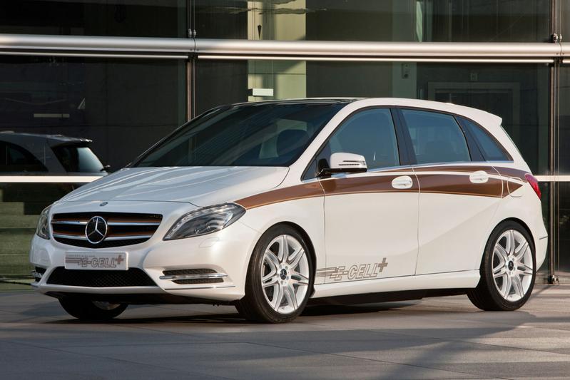 Mercedes-Benz B-klasse wordt extra groen