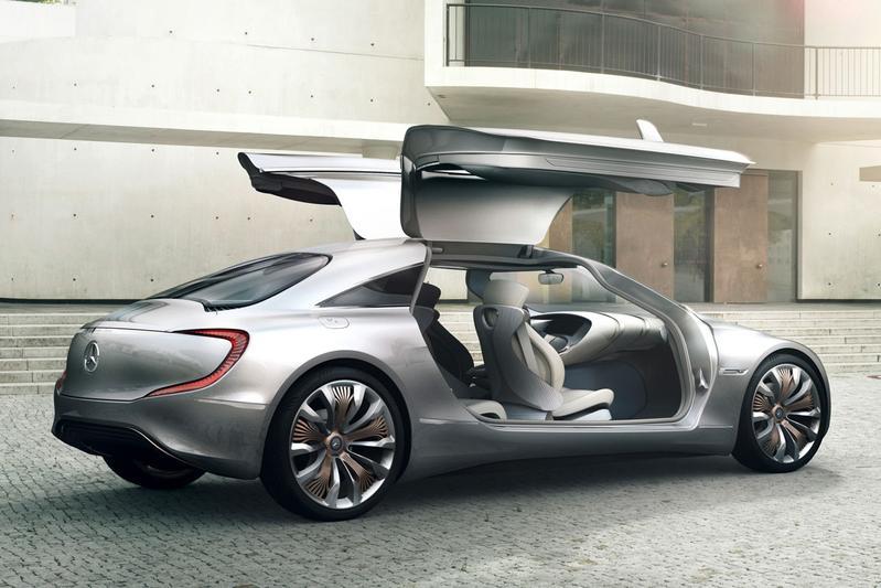 Mercedes pioniert met F 125 research vehicle