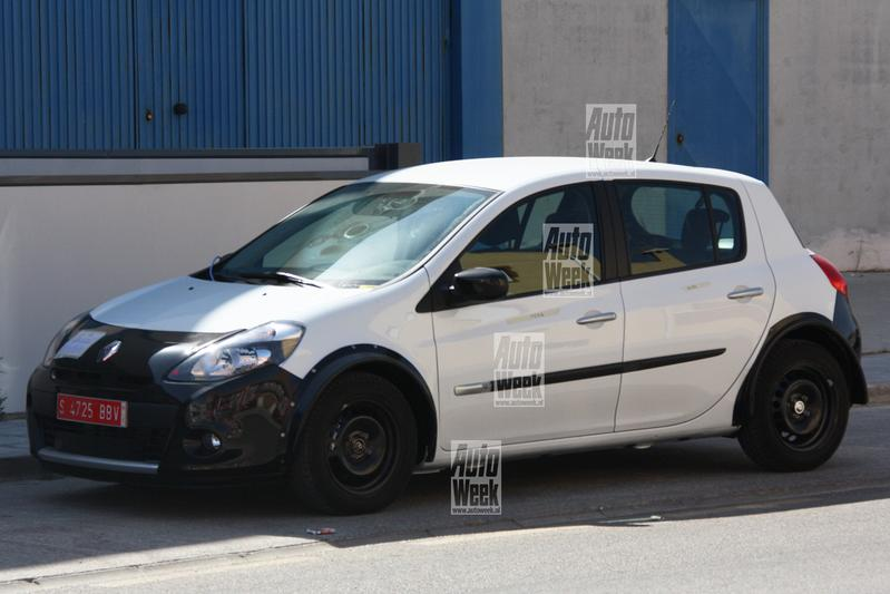 Kiekeboe: de Renault Clio voor 2012