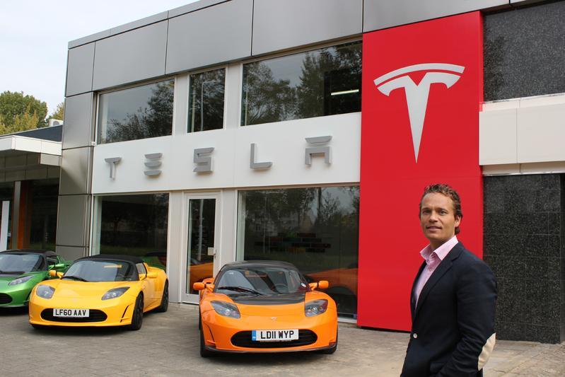 Tesla heeft voet aan de grond in Nederland