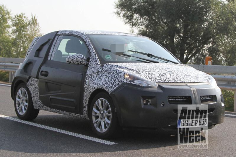Opel werkt aan kleine Junior/Allegra