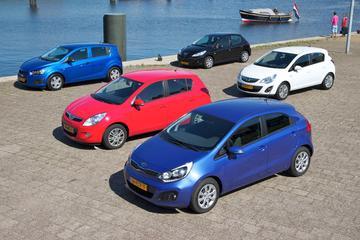 Multitest Chevrolet Aveo 1.2 LS - Hyundai i20 1.25 - Kia Rio 1.2 CVVT - Opel Cor