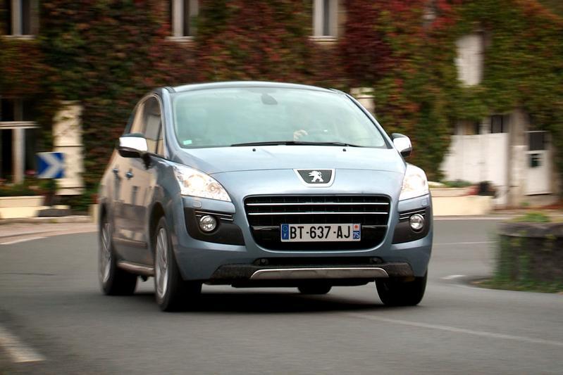 Rij-impressie Peugeot 3008 Hybrid4