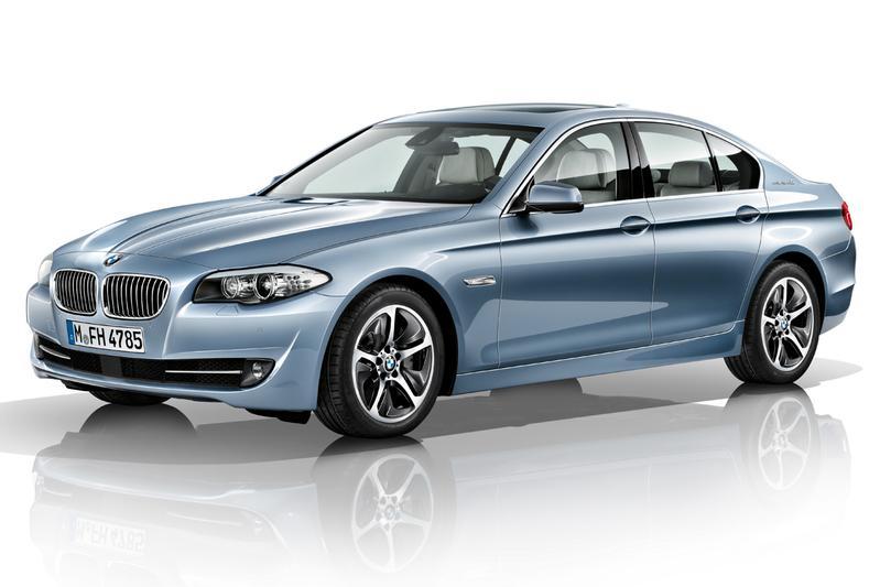 BMW ActiveHybrid 5: de derde van BMW
