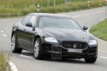 Maserati test volgende generatie Quattroporte