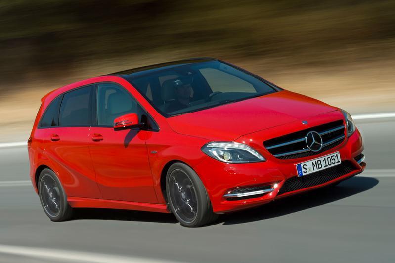 Prijslijst Mercedes-Benz B-klasse bekend
