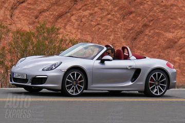 Eerste foto's van de Porsche Boxster