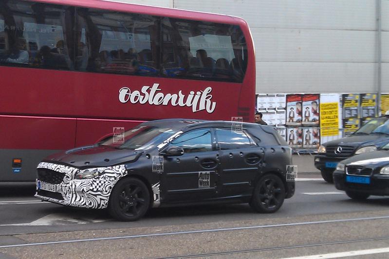 Opvallende toerist: Volvo V30