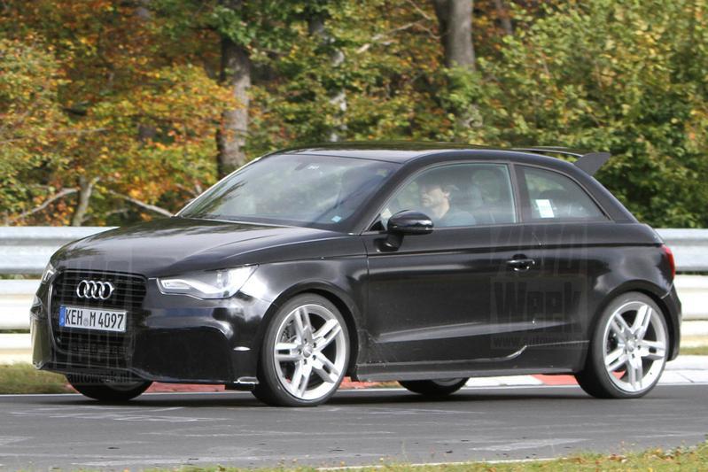 Audi RS1: dik boven de 200 pk