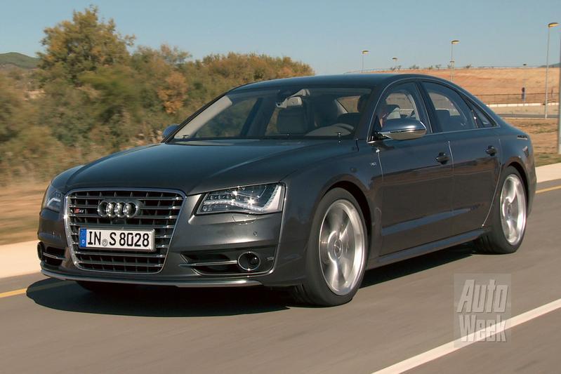 Rij-impressie Audi S8