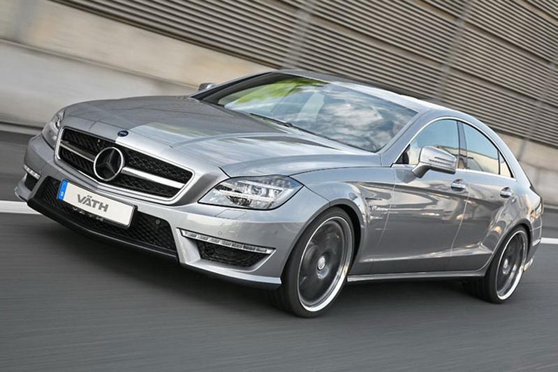 Vath tilt Mercedes CLS 63 AMG naar bijna 700 pk