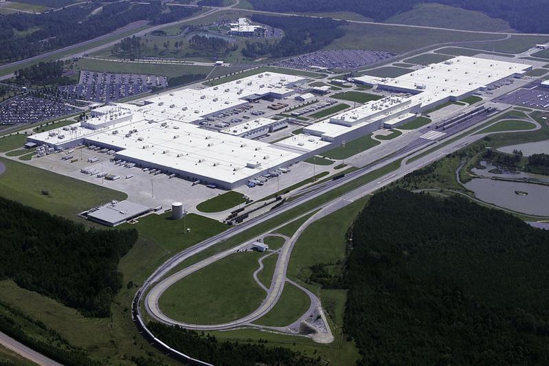 Nieuw model Mercedes-Benz uit Tuscaloosa