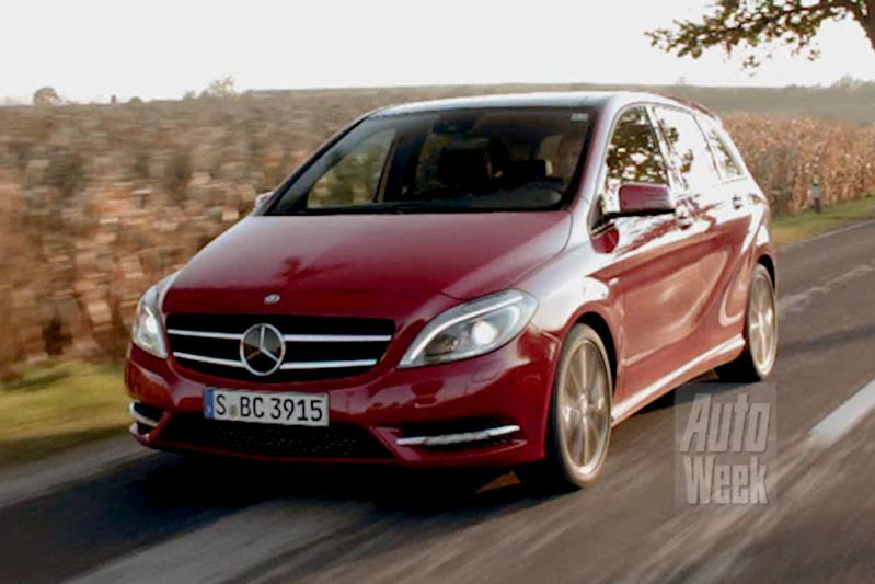 Rij-impressie Mercedes-Benz B-klasse