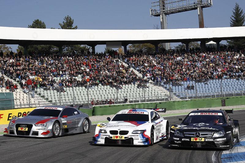 Audi, BMW en Mercedes tonen DTM-auto's voor 2012