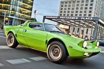 Per Lancia Stratos door Berlijn