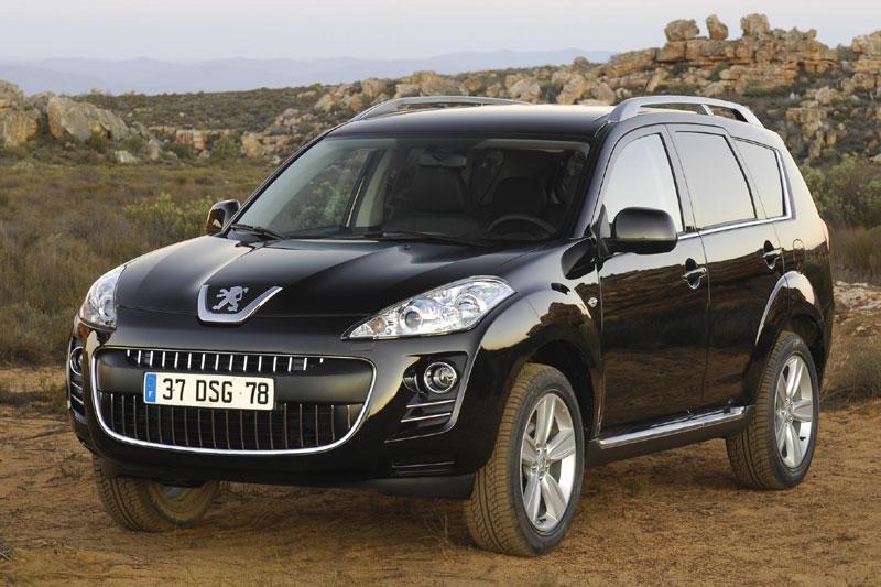 Peugeot stopt met levering 4007