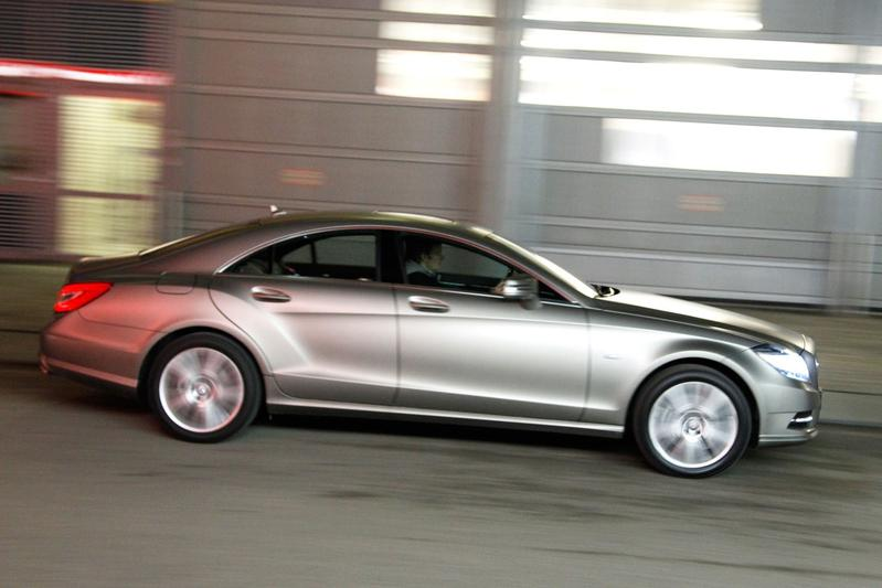 Mercedes-Benz CLS 350 BlueEFFICIENCY (2011)
