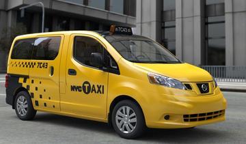 Nissan NV200 de New Yorkse taxi van de toekomst