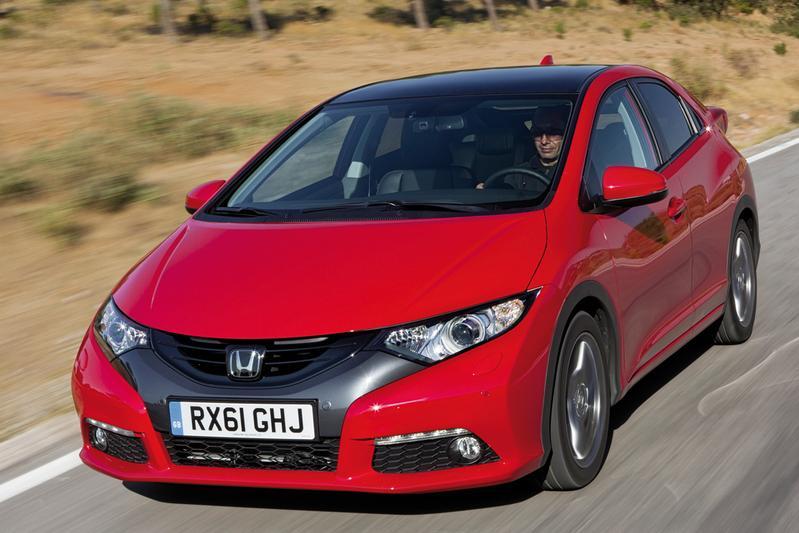 De prijzen van de nieuwe Honda Civic