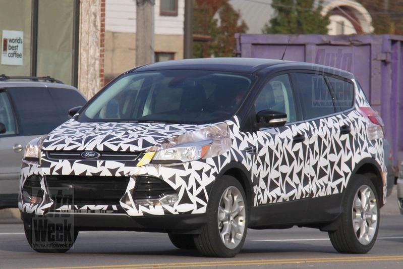Ford Kuga met minder camouflage