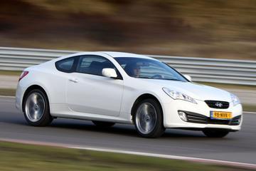 Hyundai Genesis Coupé geschrapt van prijslijst