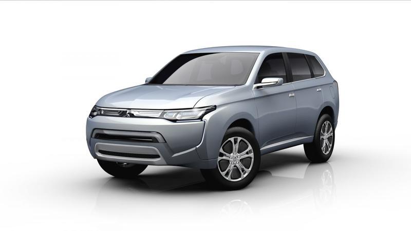 Mitsubishi presenteert PX-MiEV II en Mirage