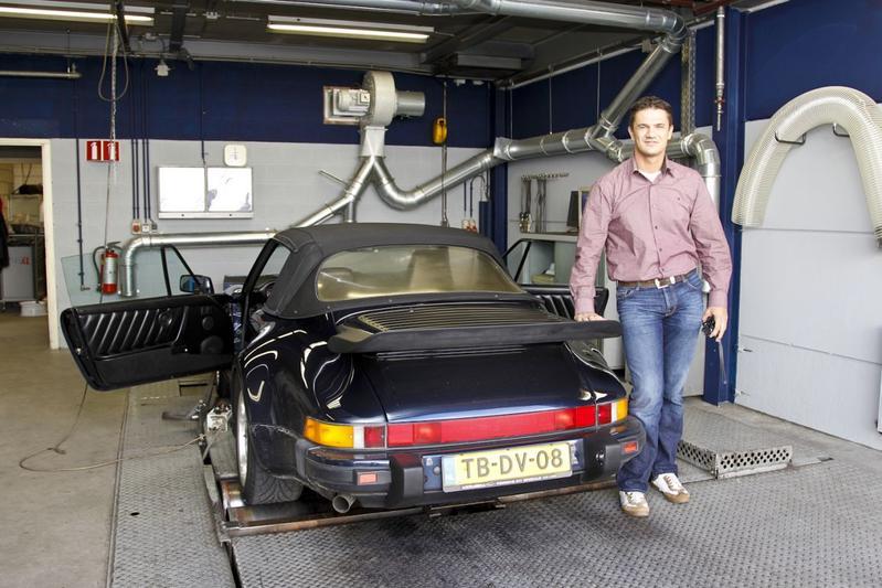 Op de rollenbank: Porsche 911 Cabrio