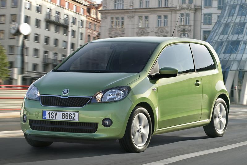 Skoda Citigo 1.0 CNG Greentech Elegance (2013)