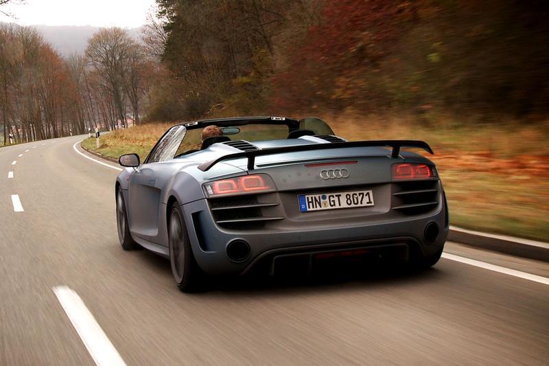 Rij-impressie Audi R8 GT Spyder