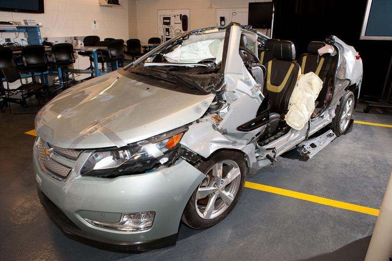 Vragen over ontbrandende Chevrolet Volt