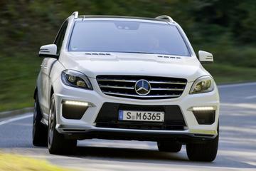 Mercedes ML 63 AMG: nieuwe Super-SUV