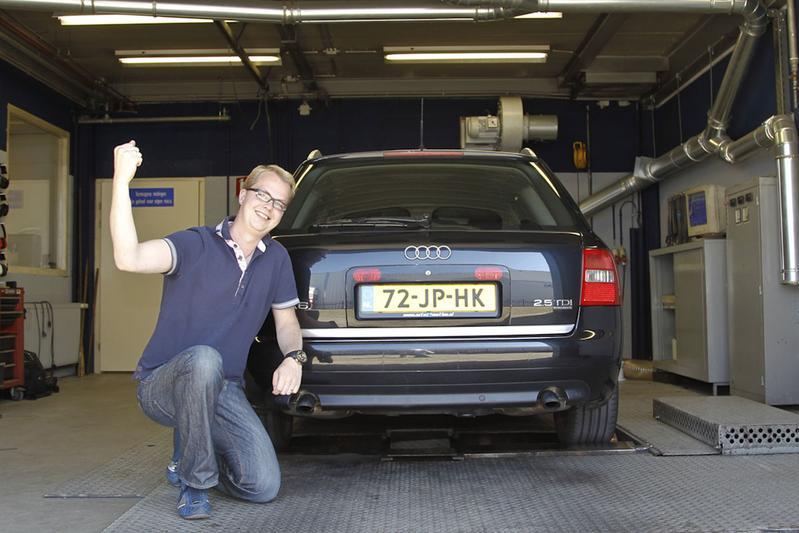 Op de rollenbank: Audi A6 Avant TDI