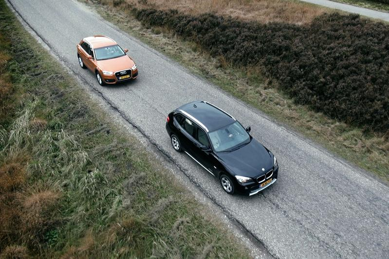 Dubbeltest Audi Q3 vs BMW X1