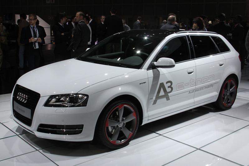 Audi A3 E-tron: EV stap dichterbij