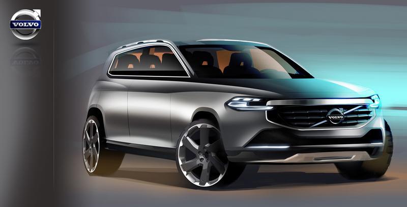 Vier ideeën voor de Volvo XC90