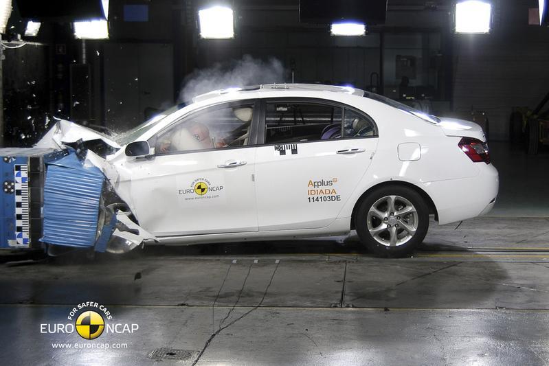Chinese auto's scoren vier sterren bij EuroNCAP