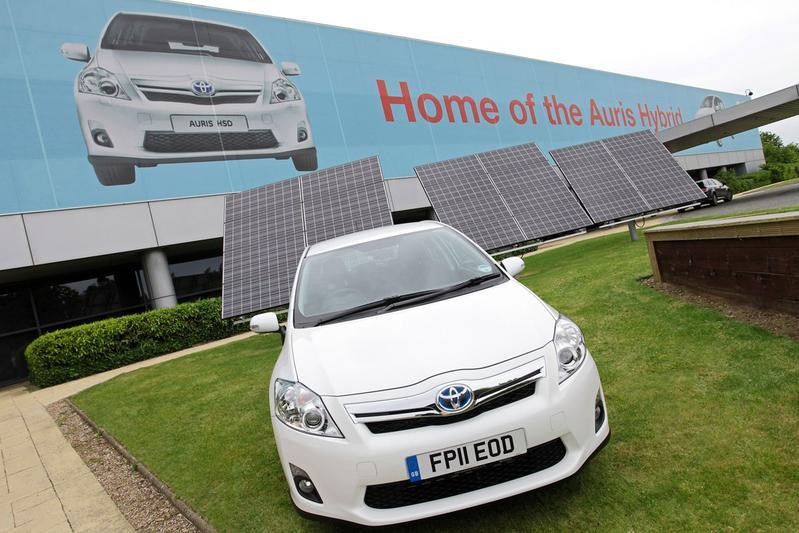 Opvolger Toyota Auris uit Engeland