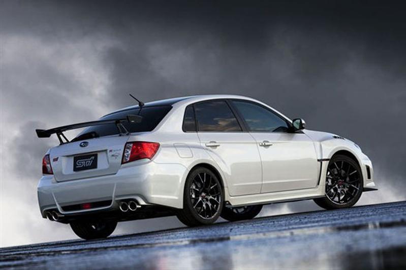 De ultieme Impreza van Subaru: de WRX STI S206