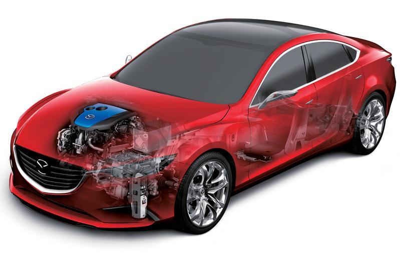 Mazda: condensator voor herwinnen remenergie
