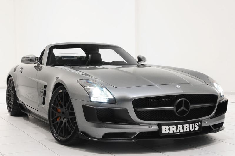 Brabus heeft nu ook SLS AMG Roadster te pakken