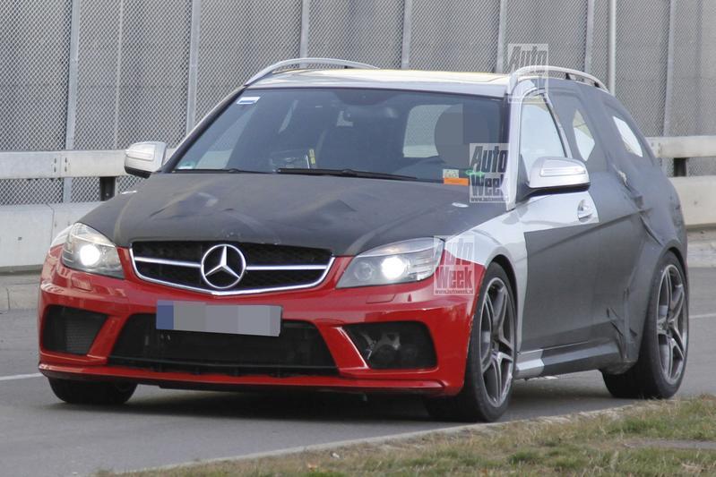 Voor pappa's: Mercedes C63 AMG Estate Black Series