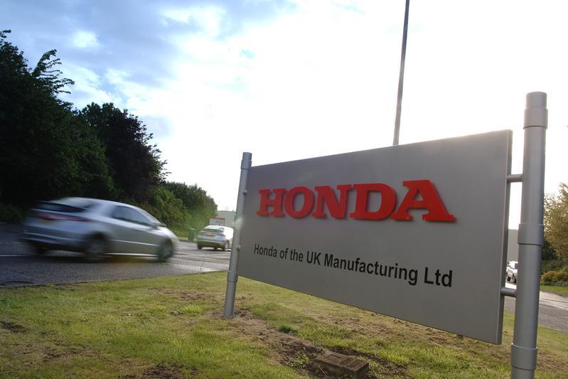 Honda-fabriek in Swindon