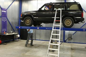 Klukje Rond - Jeep Cherokee 4.0