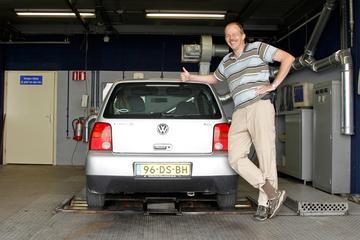 Op de rollenbank: VW Lupo 1.2 TDI 3L